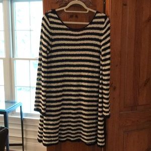 Free people low back sweater dress size s